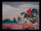 The Black Horse Rider, Famine