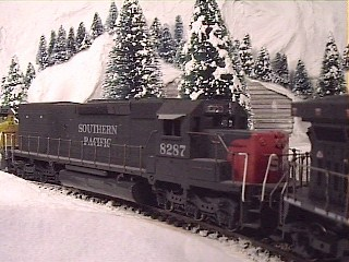 Southern Pacific Tunnel Motor reaches the summit